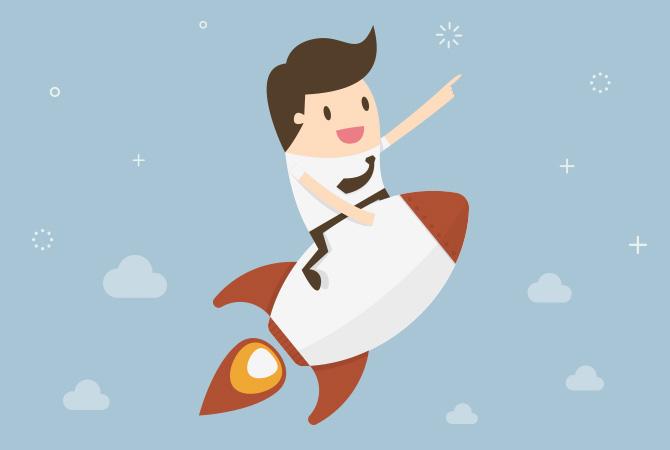 Raketenstart: Webdesign vom Profi